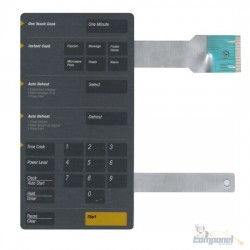 Membrana Microondas Samsung MW8630 Cinza